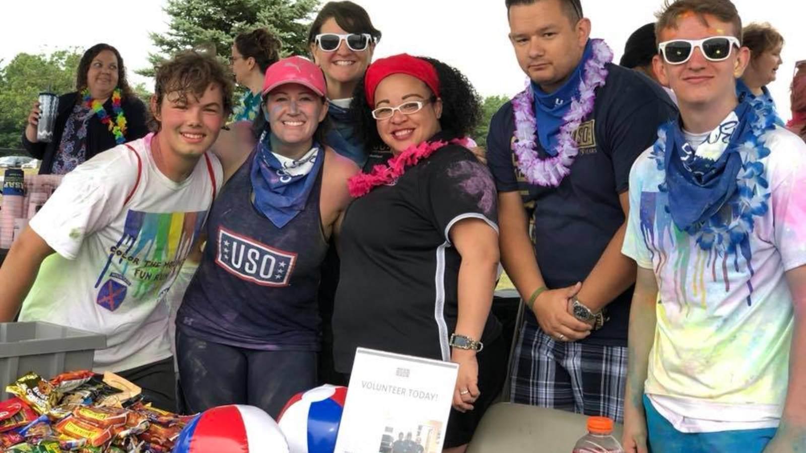Volunteer • USO Fort Drum