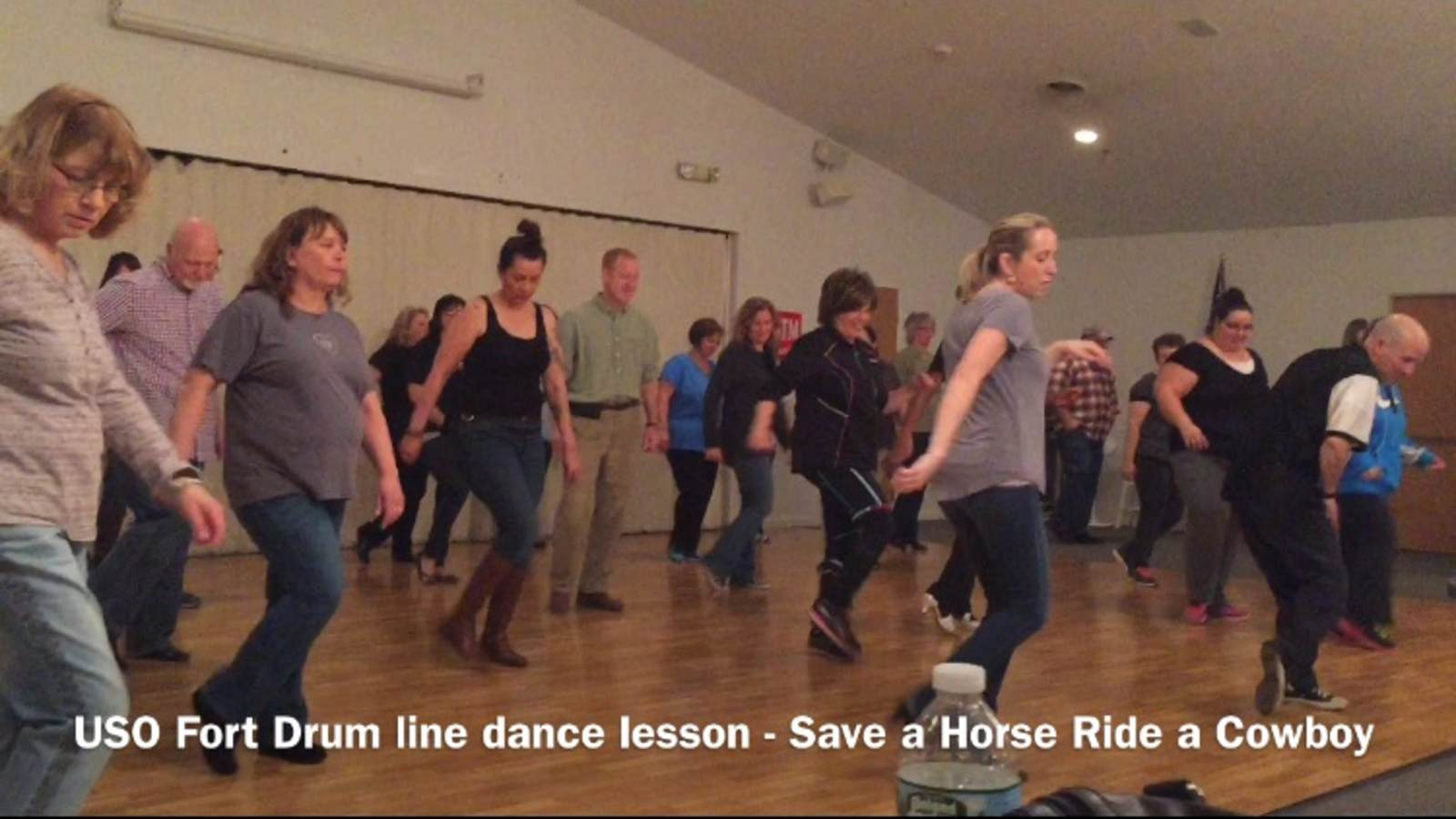 USO Fort Drum Line Dance Lessons • USO Fort Drum